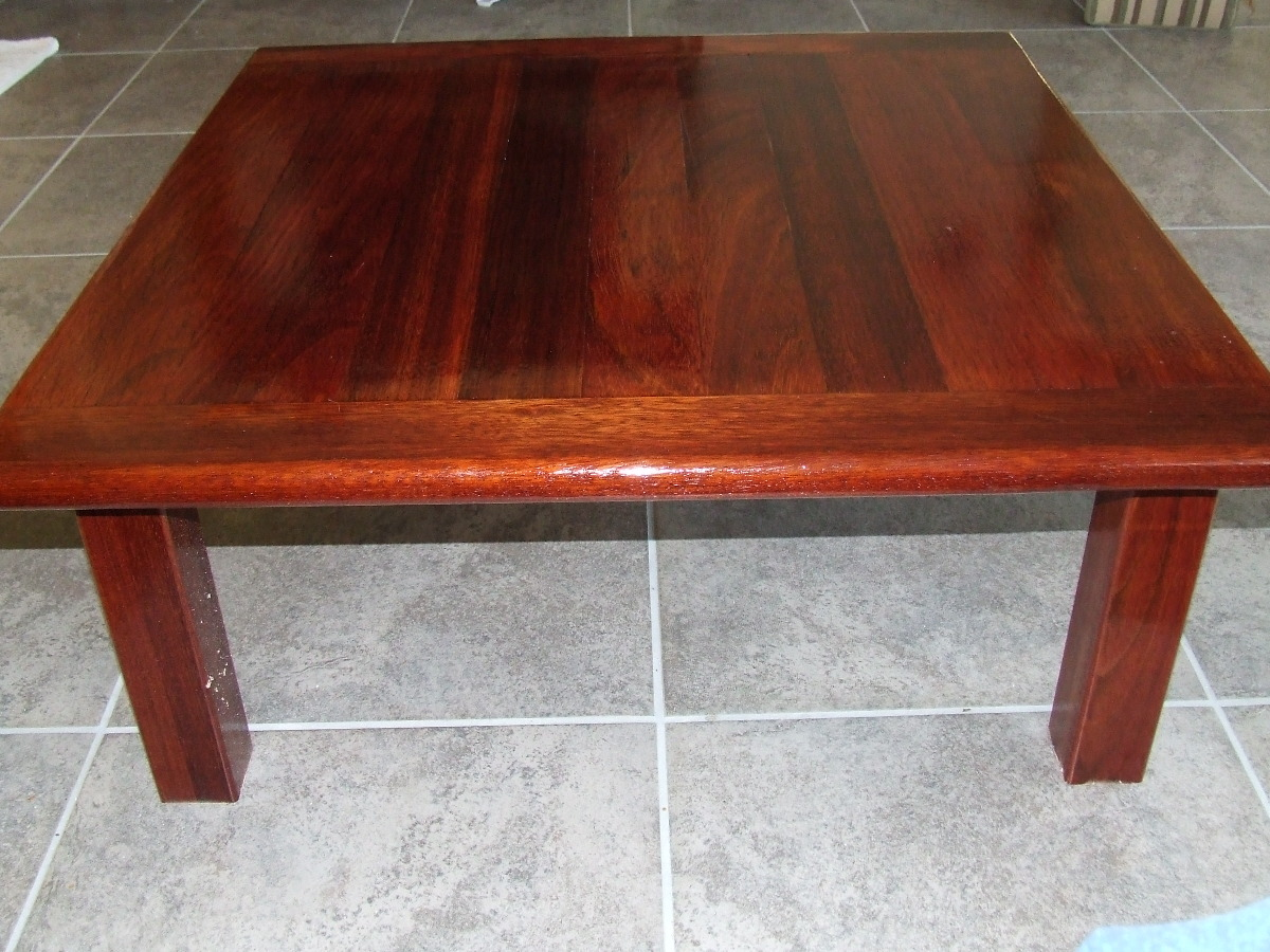 Table20141214asmlg brazilian cherry coffee table 36 square and 1 thick wood geotapseo Choice Image